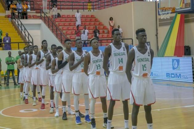 Championnats d'Afrique des U18 : le Sénégal domine la Tunisie et occupe la première place du groupe B (81-38)