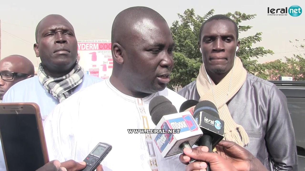 Bamba Fall livre le message de Khalifa Sall aux Sénégalais