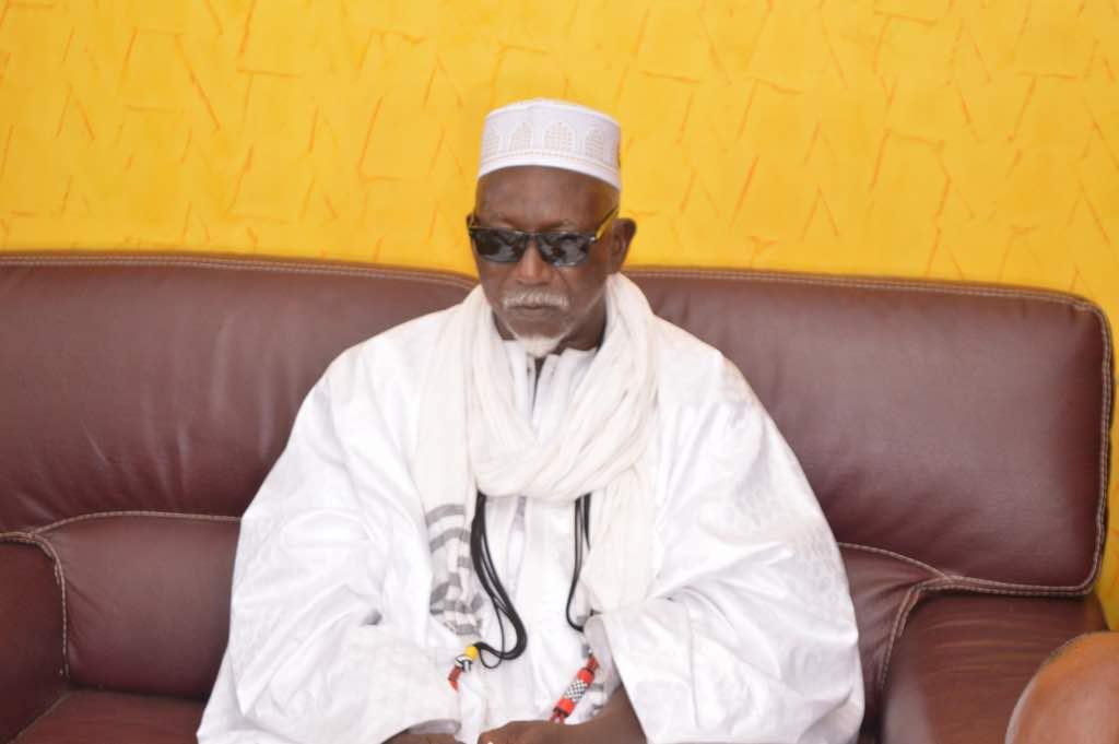 Les premières images du khalife de Serigne Bara Mbacké et de Serigne Sidy Moukhtar Mbacké , Serigne Moustapha Mbacké