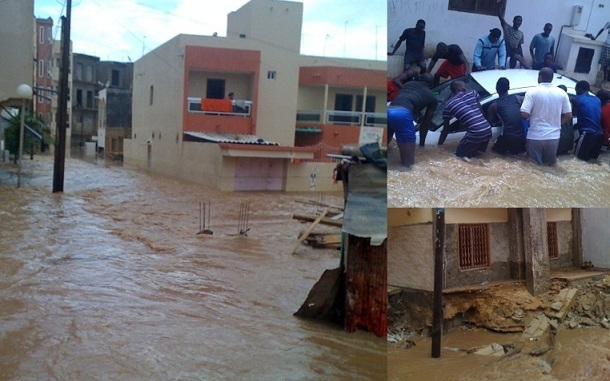 Dégâts collatéraux de la pluie: Quatre morts à Kaolack et Fatick