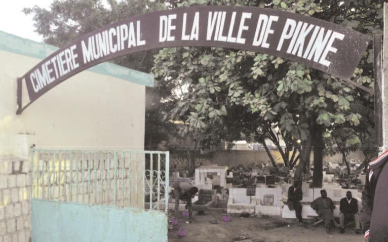 Dernière minute : Le cimetière musulman de Pikine, inondé