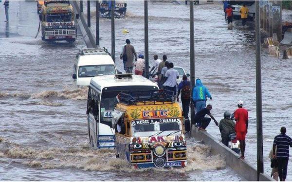 Météo: Dakar et ses environs risquent d'être inondés dans les prochaines 24 heures