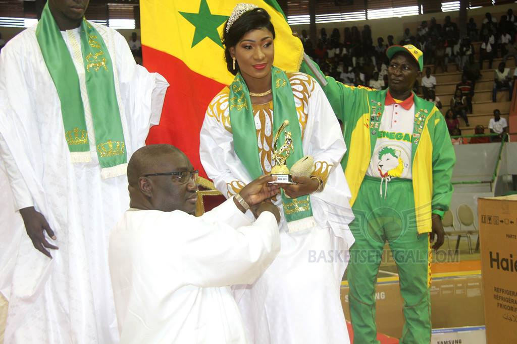 Basket – Championnat du Sénégal: La cérémonie de couronnement en images!