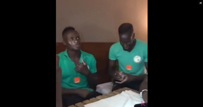 Quand Sadio Mané et Salif Sané se disputent un coup franc
