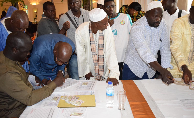 Présidentielle 2019 : Les Sénégalais de la Gambie très motivés pour parrainer le Président Macky Sall.