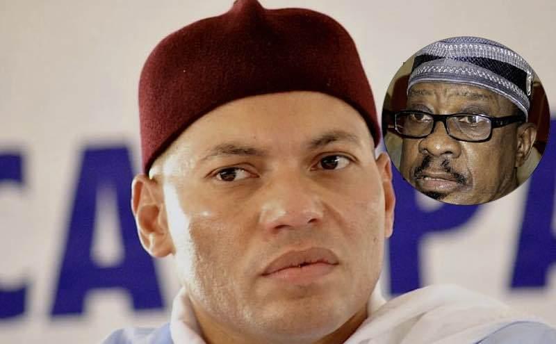Lettre envoyée à Me Wade:  Karim s'en mêle et accuse Madické de trahison