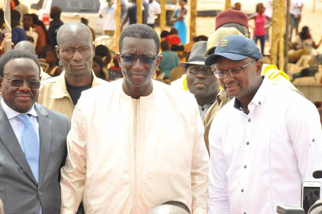 Union : Amadou BA et Moussa Sy s'unissent pour le bien des populations de leur localité les Parcelles