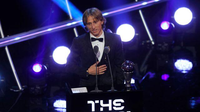 FIFA : Modric élu meilleur joueur de l'année