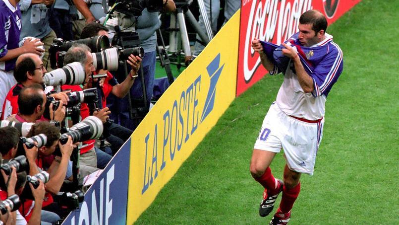 Le maillot de Zidane contre le Brésil en 1998 mis aux enchères