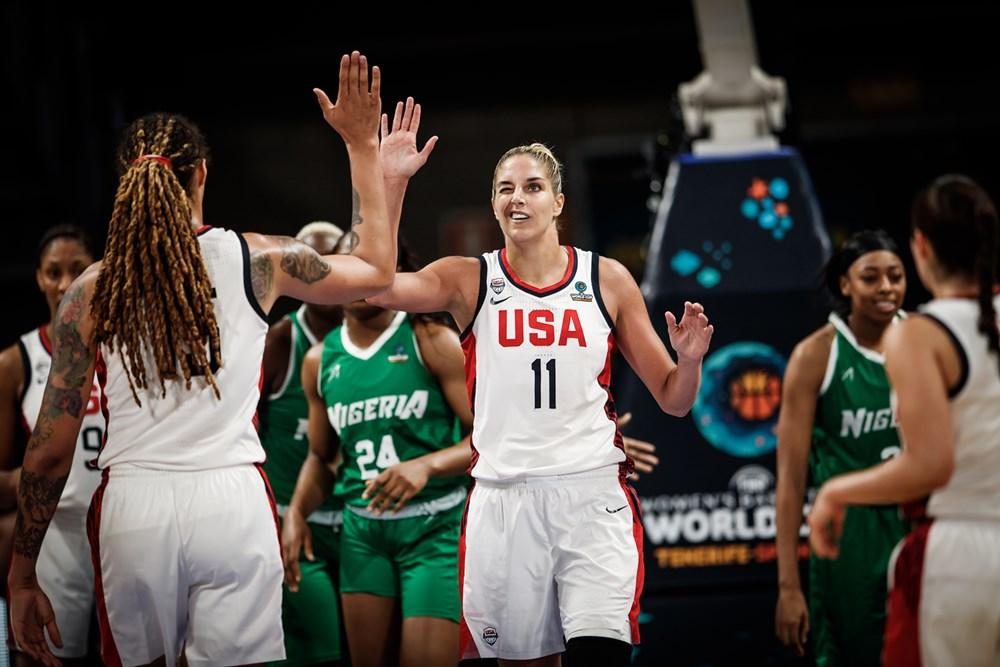 Mondial basket: Les Etats-Unis dominent (71-40) le Nigeria et filent en demi-finale