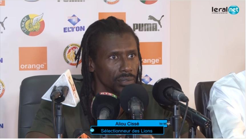 Aliou Cissé répond ses détracteurs sur son management