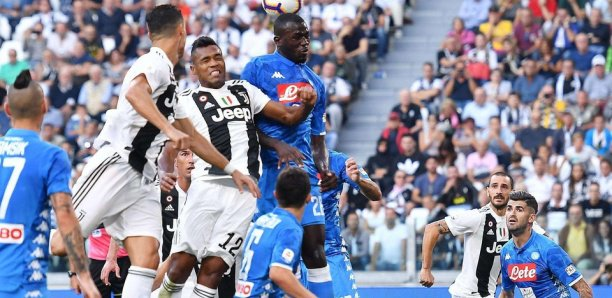 Juventus: Une tribune suspendue après des cris racistes contre Koulibaly