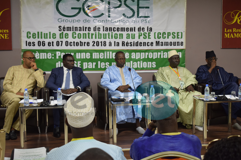 PHOTOS - Séminaire de lancement du groupe de contribution au PSE