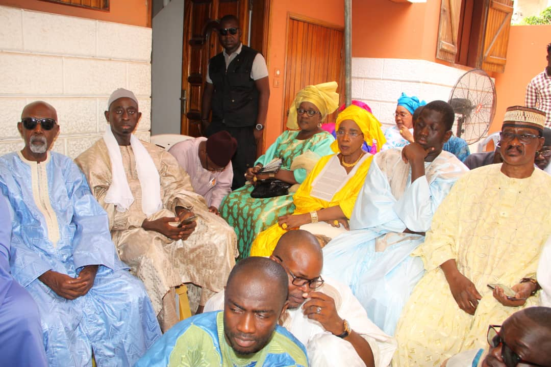 """Les images du baptême de fils de Cheikh Mbacké """"Solution"""""""