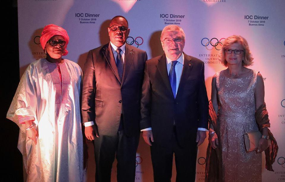 Photos : Soham Wardini et Macky Sall décrochent les Jeux Olympiques de la Jeunesse en 2022 pour le Sénégal