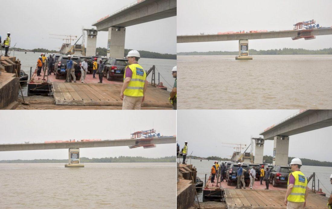 """Le Pont de Farafégné sera ouvert à la circulation """"dès janvier prochain"""", selon Macky Sall"""