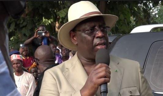 Macky Sall à Oussouye : « La Casamance est une priorité pour mon gouvernement »