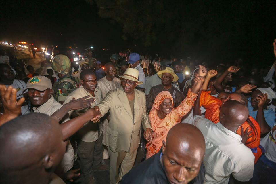 Macky Sall est arrivé à Kolda ce vendredi vers 14 heures