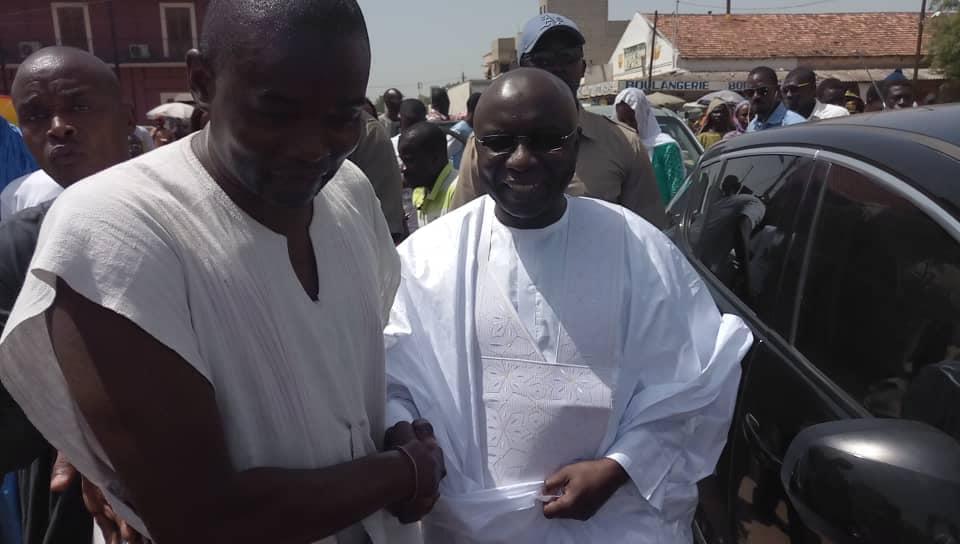 PHOTOS - Le président Idrissa SECK reçu ce matin à Touba par le Khalife Général des Mourides Serigne Mountakha MBACKÉ