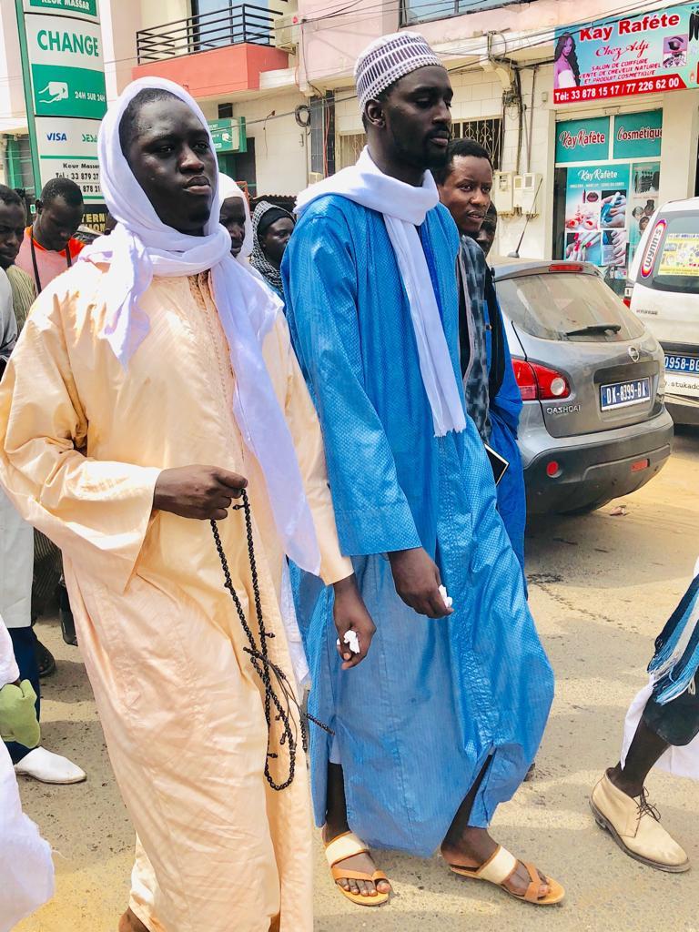 """Fédération """"Nourou Dabakh"""" de Touba Keur Massar en préparatifs pour le Magal"""