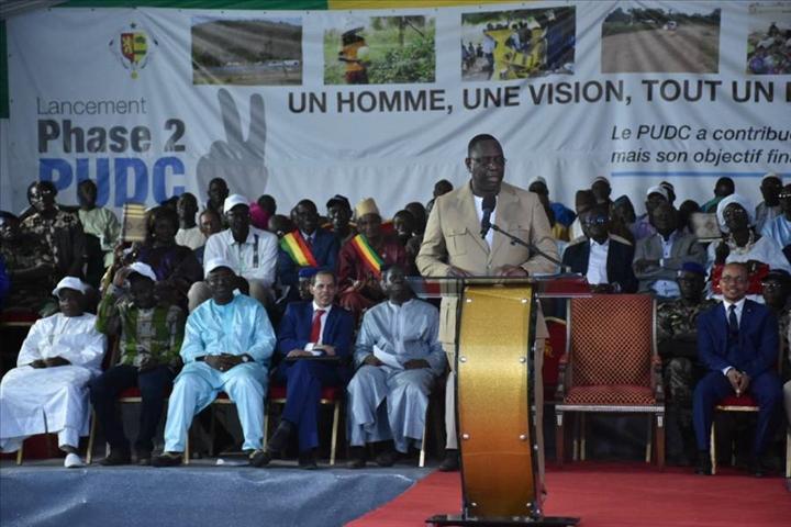 Casamance : 450 milliards investis en 4 ans pour réaliser 54 projets, selon Macky Sall
