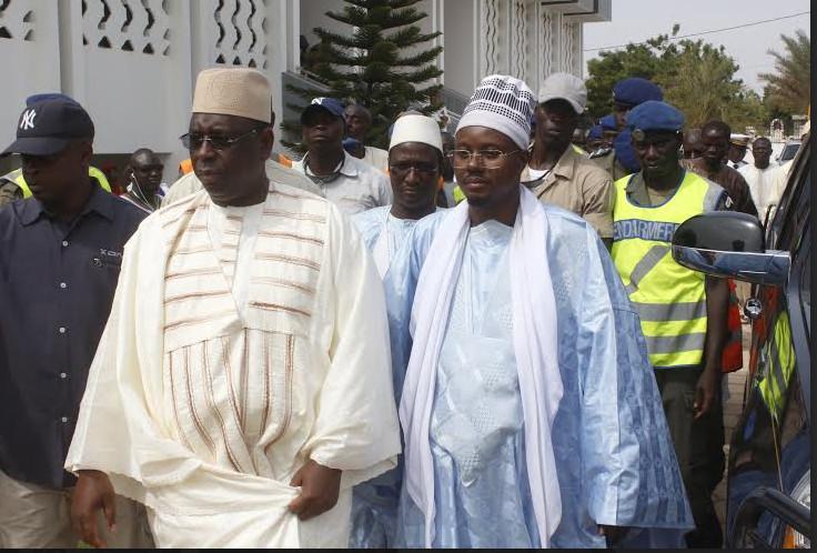 """Touba : Serigne Mountakha Mbacké """"sauve' la visite du Ptésident Macky Sall"""