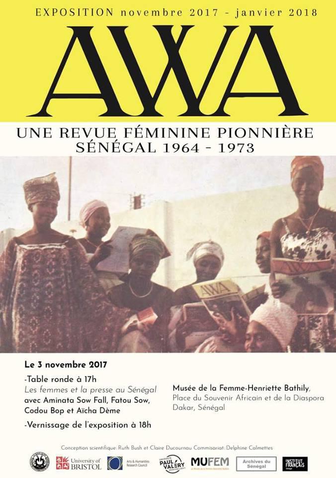 Carte postale: Faites connaissance avec AWA, la pionnière des revues féministes au Sénégal lancée en..1961 !