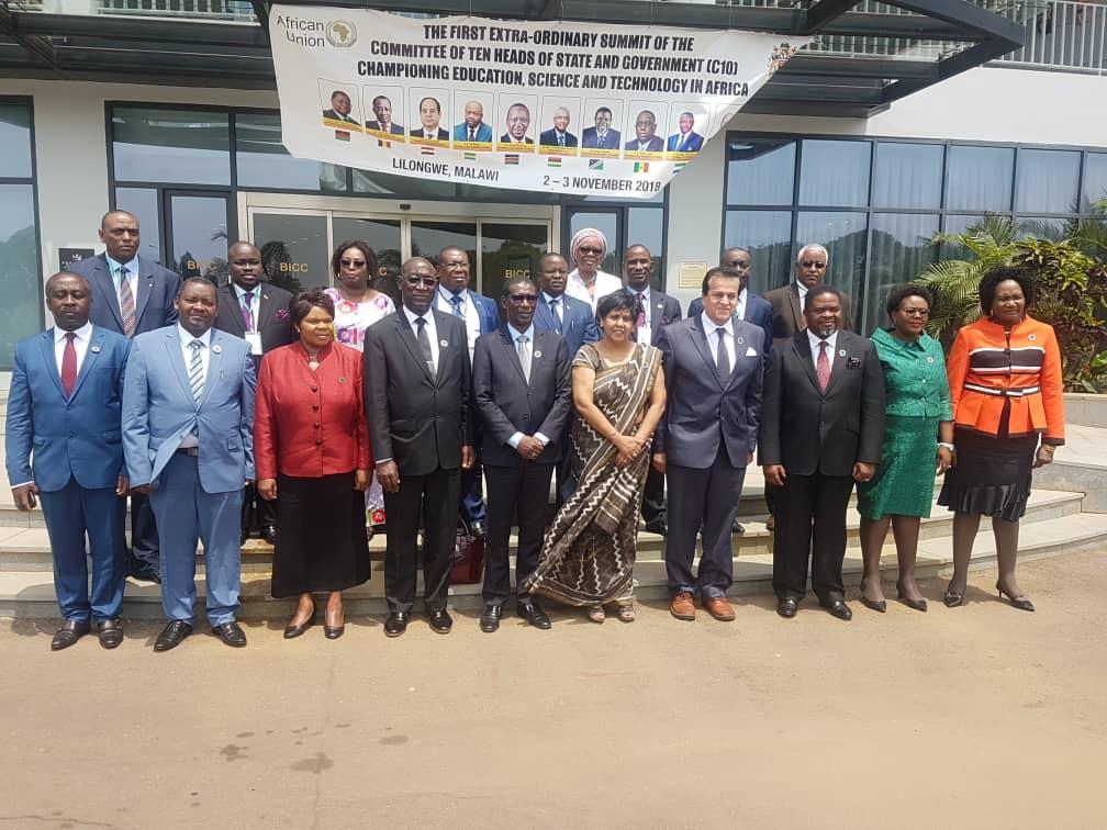 Mary Teuw Niane au Malawi pour la Promotion de l'Education, de la Science et de la Technologie (C10)