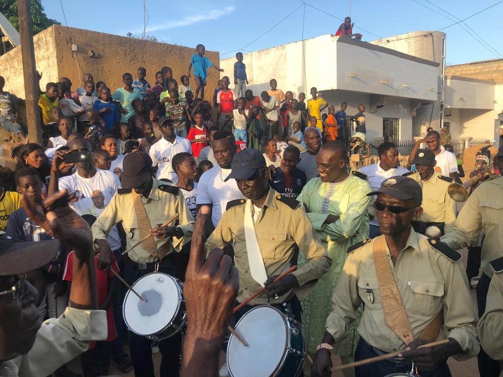 FINALE NAVETANE ASC NDOUTT vs FOGNY : Parrainage de M. Yellamine Goumbala, Coordonnateur du Mouvement Andu Nawle Jotna de Tivaouane