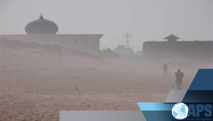 METEO - Alerte à la poussière sur les localités Nord et Centre Ouest