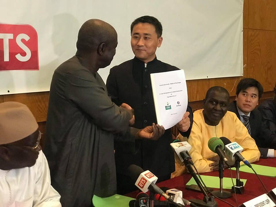 Sheng Yi, directeur des programmes de Startimes : « le contrat signé avec la ligue est correct et équitable »