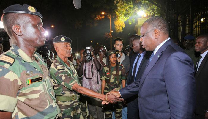 Macky Sall préside la journée des Forces armées