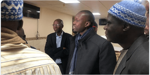 PHOTOS - Ousmane Sonko à la Zawiya Seydi Hadji Malick Sy de New York (04 photos)