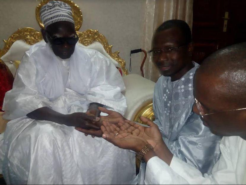 Décès de Sokhna Baly Mbacké, Harouna Dia envoie une délégation pour présenter ses condoléances