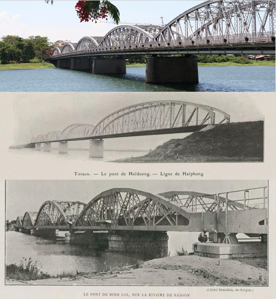 Carte postale: D'autres ponts Faidherbe? Celui de Saint-Louis, le seul dans nos caeurs