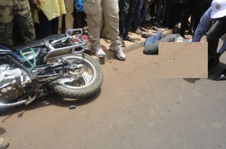 Urgent - Un accident de moto fait 3 morts à l'instant dans la commune de Fimela