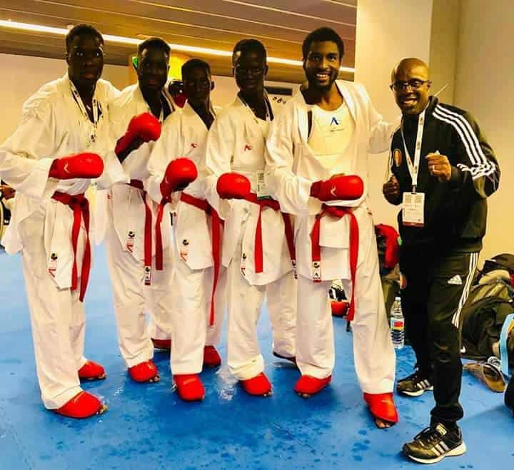 Karaté – Championnats du monde 2018 : Le Sénégal perd la finale de bronze face à l'Italie et finit 5e mondial
