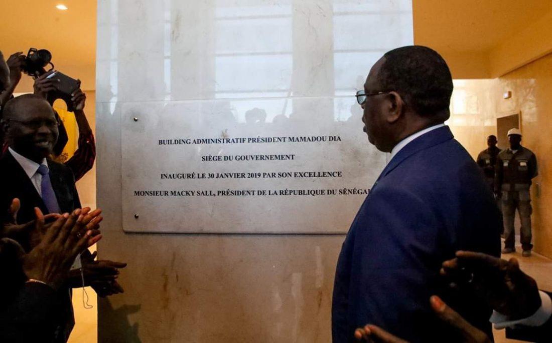 Macky Sall : « Je salue le professionnalisme de Bamba Ndiaye SA »