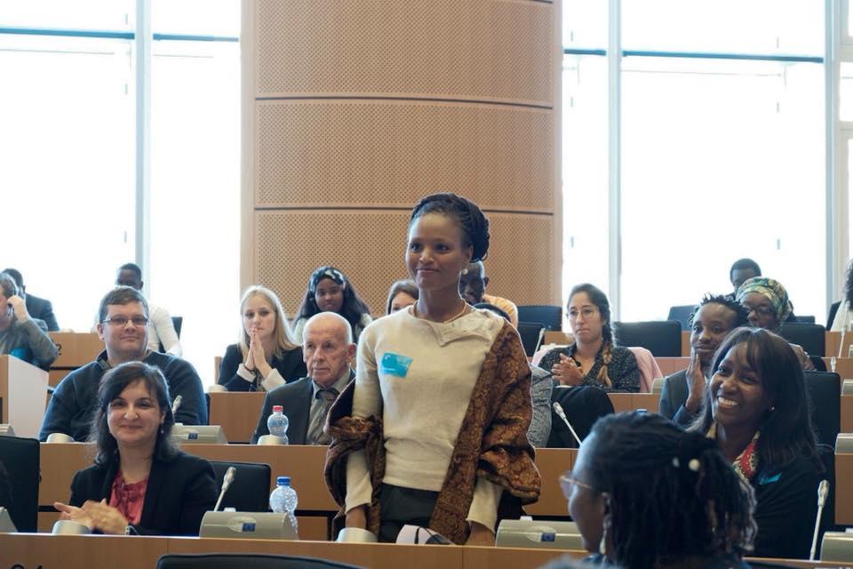 Bruxelles: Cette fille d'Alioune Tine a honoré le Sénégal au Parlement européen