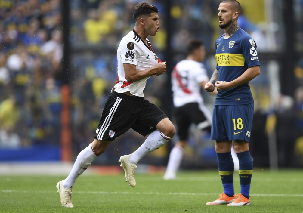 Le Real tout proche d'engager la pépite Argentine Exequiel Palacios