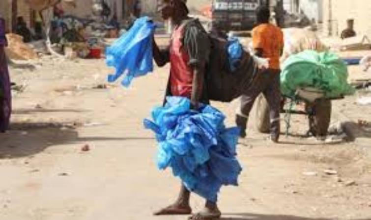 Environnement: 193 mille tonnes de sachets plastique dans la nature