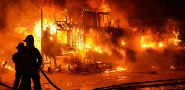 Incendie à Foundiougne : Une vingtaine de cases consumées