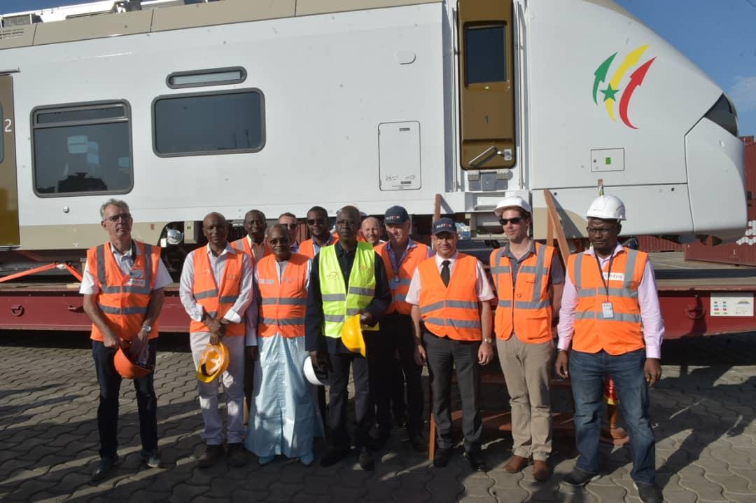 Premières rames du Ter: Arrivée et réception par le PM au môle 2 du port de Dakar ce dimanche