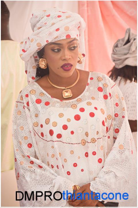 Gamou : SOKHNA AIDA DIALLO dévoile son Sagnsé, toute simple et ravissante