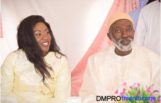 Photos : Sokhna Adja bou Cheikh Béthio et son père se sont réconciliés