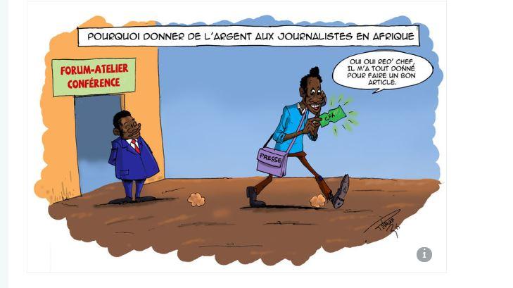 Enquête sur le Journalisme africain : le poison des « per diem » (Par Maguette Gueye (chroniqueuse Le Monde Afrique, Dakar)