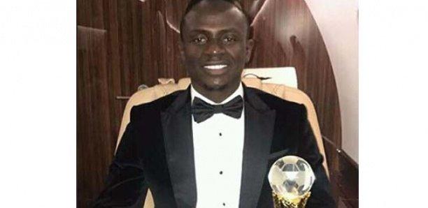 Sadio Mané remporte son 5e Ballon d'or sénégalais consécutif