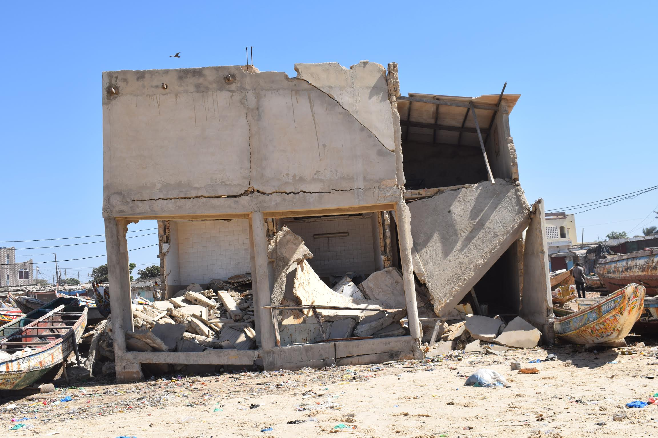 Dégâts causés par la houle: le Ministère de la Pêche se rend à Cayar et à Fass Boye
