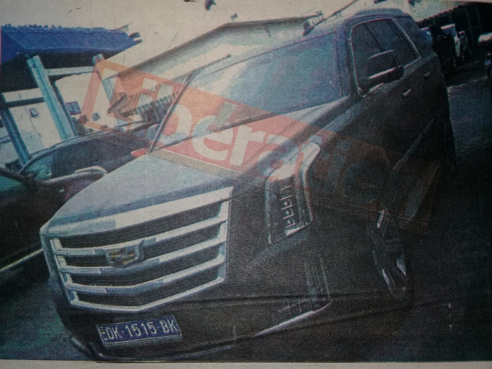 Port: Une Escalade 4X4 d'Idrissa Seck saisie par la Douane  pour fausse déclaration
