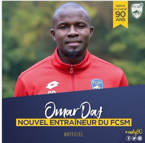 Ligue 2 : Omar Daf nommé entraîneur de Sochaux